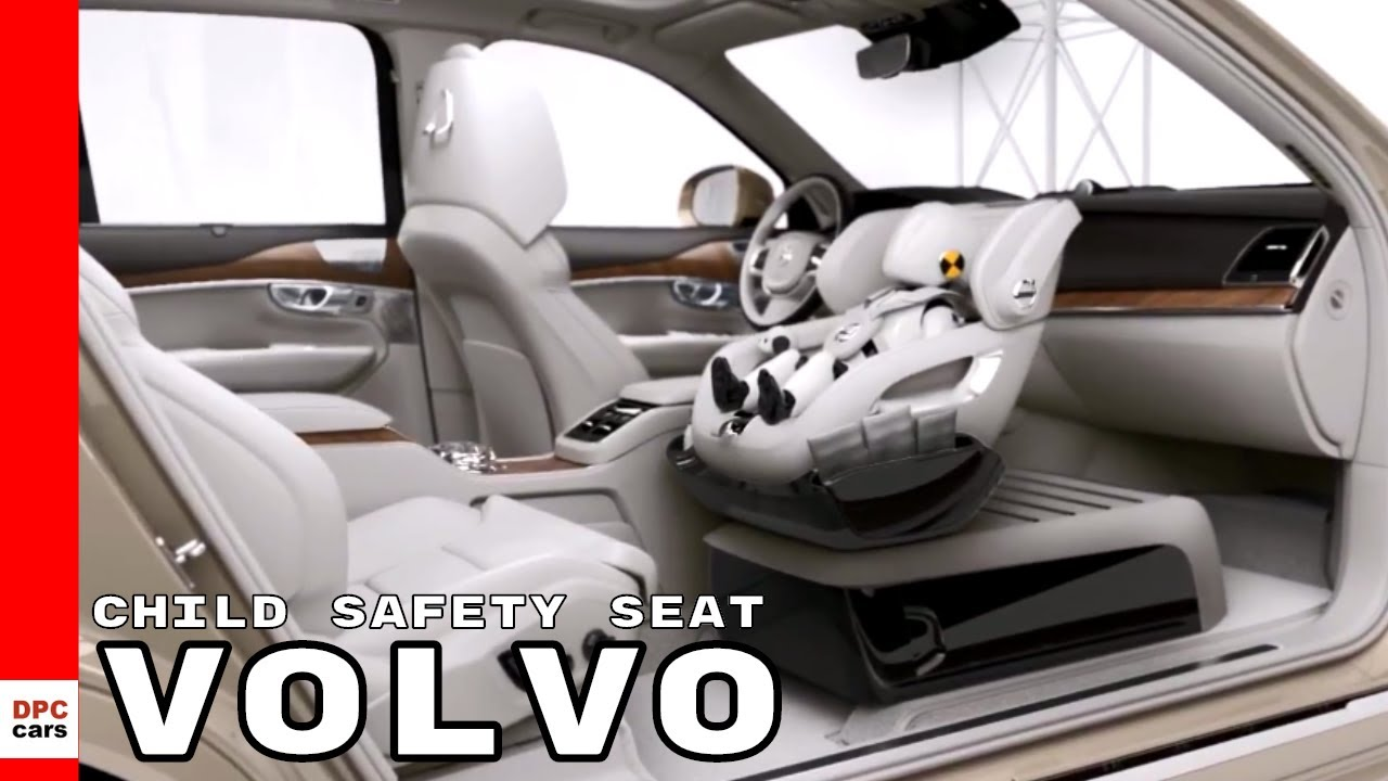 Volvo Excellence Child Safety Seat Concept Inflatable