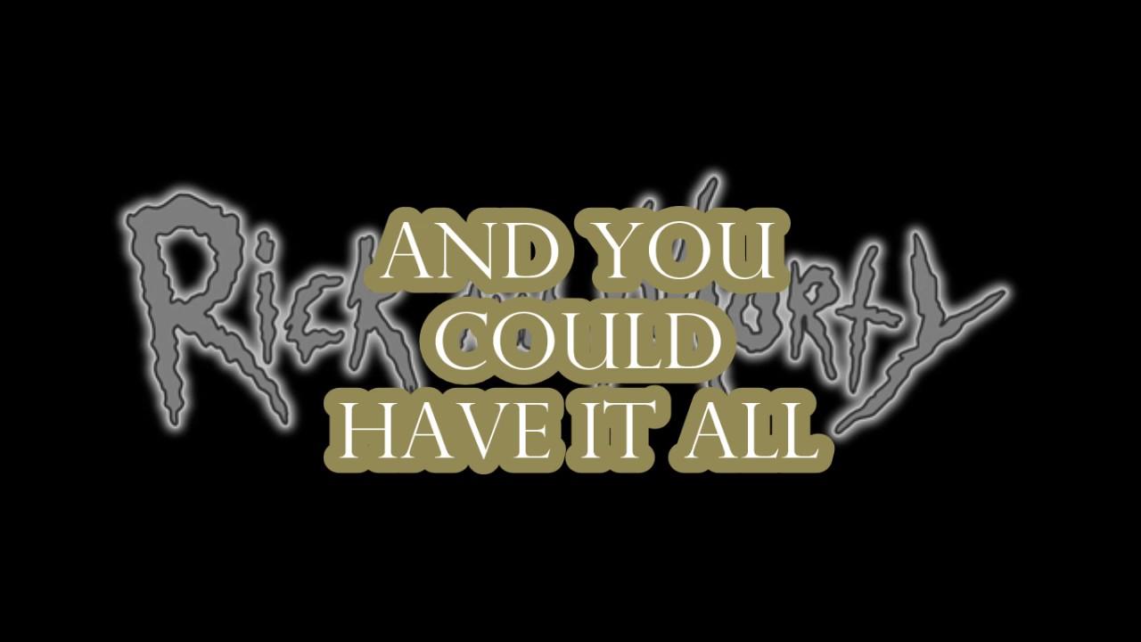 Hurt / (Nine Inch Nails) / Rick and Morty)/ (Lyrics) - YouTube