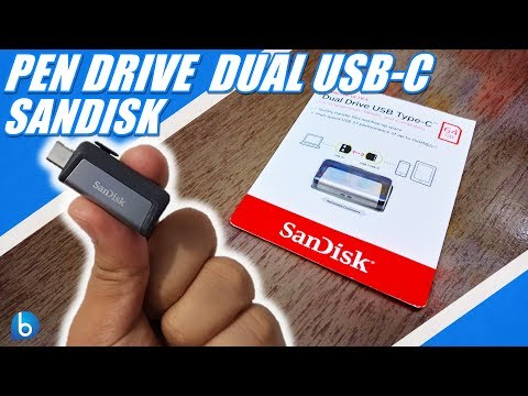 PENDRIVE USB-C PARA SMARTPHONE - SANDISK DUAL DRIVE