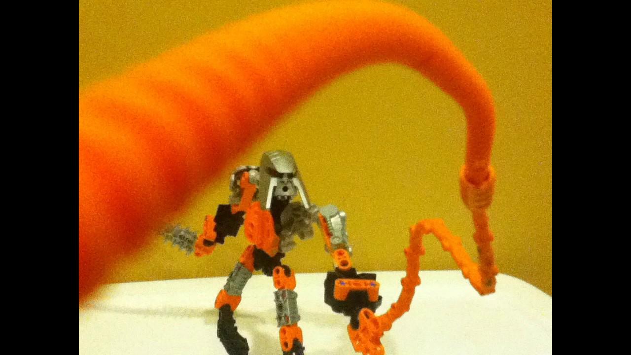 Bionicle Moc Codeto Toa Of Plasma Youtube