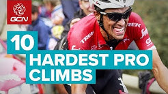 10 Hardest Climbs In Professional Cycling
