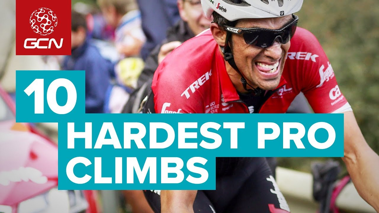 10 Hardest Climbs In Professional Cycling - YouTube 3b847abbb