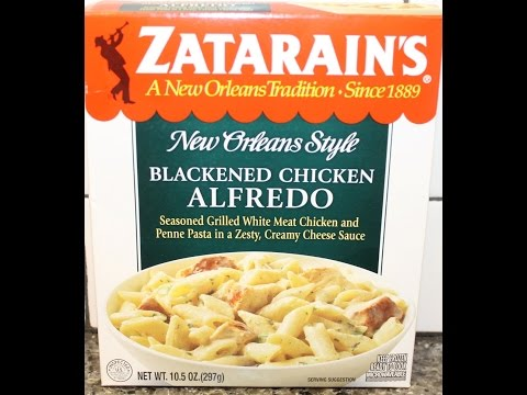 Zatarains New Orleans Style Blackened Chicken Alfredo Review