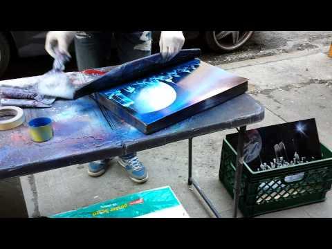 New York City Spray Paint Street Art