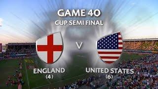 England vs USA Dubai 7s 2015/16 - Cup Semi 2