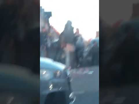 16.04.2019 - Aggressive Slovak Roma gypsy attacks muslim taxi driver in Darnall in Sheffield UK