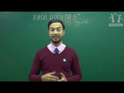 [Luyện thi 5+] Giới thiệu khóa học - Sinh học 12 - Thầy Nguyễn Thành Công