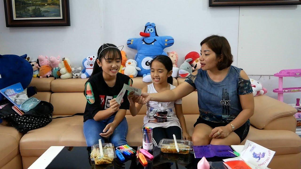 Câu Chuyện Hai Chị Em – Làm Thiệp Chúc Mừng Ngày Nhà Giáo Việt Nam 20 -11 | MN Toys family Vlogs