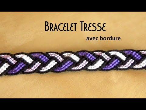 Braid Friendship Bracelet (Intermediate level )
