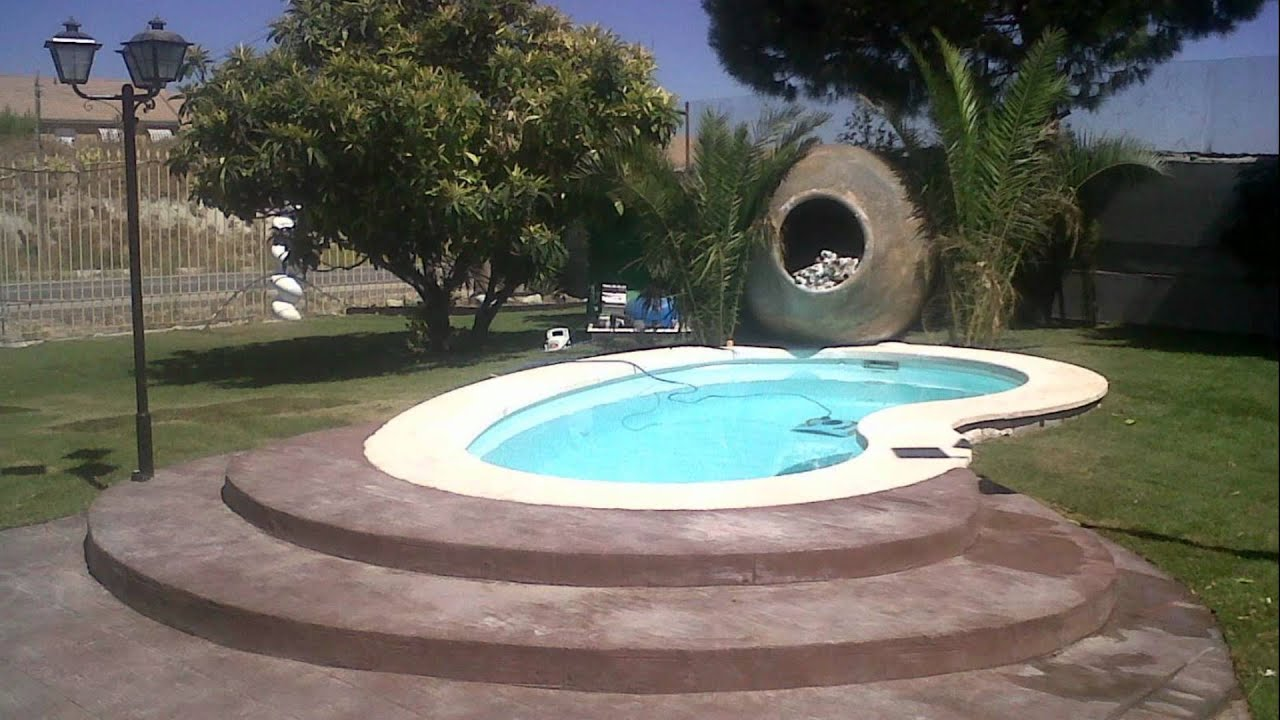 Barpool piscinas prefabricadas fibra piscina ri on r 50 for Decoracion jardin piscina