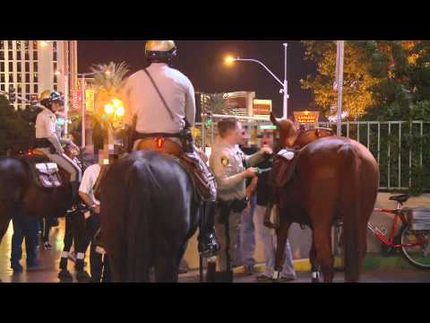 The Ride with Cord McCoy: Cord McCoy rides with the Las Vegas Mounted Police