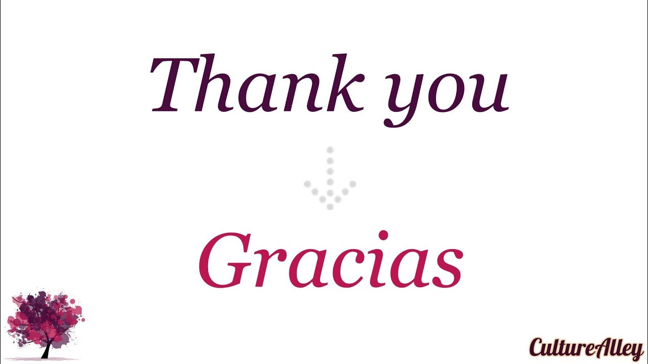 Thank you in spanish youtube thank you in spanish youtube kristyandbryce Images