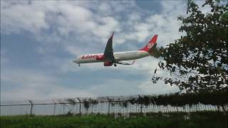(VARIOUS PLANE TO BPN) Part 1/2 : Planespotting in Sepinggan Beach, Balikpapan Airport