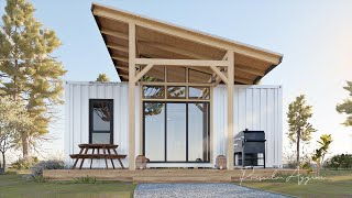 Shipping Container House - Living OFF GRID - Three Bedroom