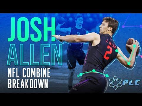Josh Allen\'s Throwing Mechanics at the Combine