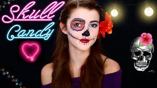 Hope You All Enjoyed!!! SKULL Candy Halloween Makeup Look!!!! Can w...