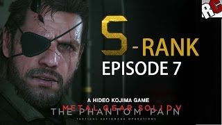 Metal Gear Solid 5: The Phantom Pain - Episode 7 S-Rank Walkthrough (Red Brass)