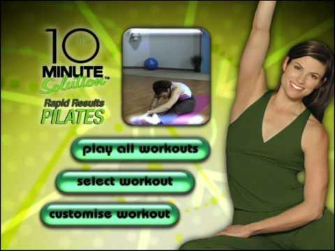 Amazon. Com: 10 minute solution: prenatal pilates: lizbeth garcia.