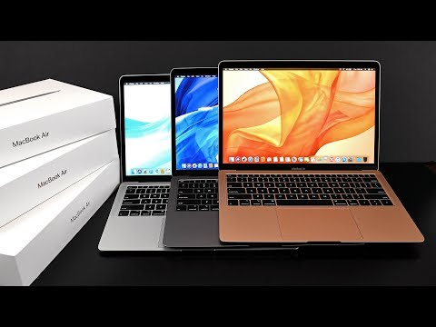 Apple MacBook Air (Retina): Unboxing & Review (All Colors!)