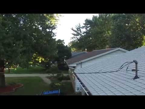 Drone Aerial Gutter Inspection Hd Youtube