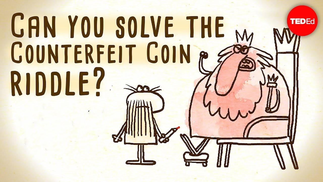 Can You Solve the Counterfeit Coin Puzzle? | Mental Floss