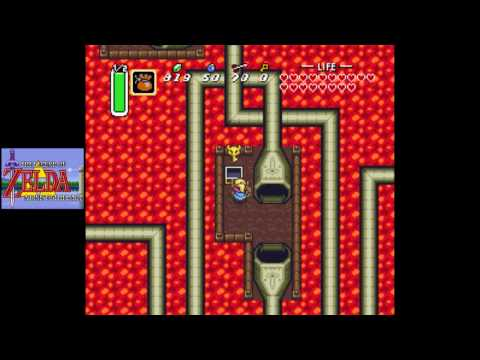 Zelda: A Link to the Past [SNES] Playthrough #19, Level 7: Turtle Rock