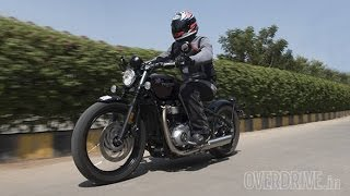 2017 Triumph Bobber review in India | OVERDRIVE