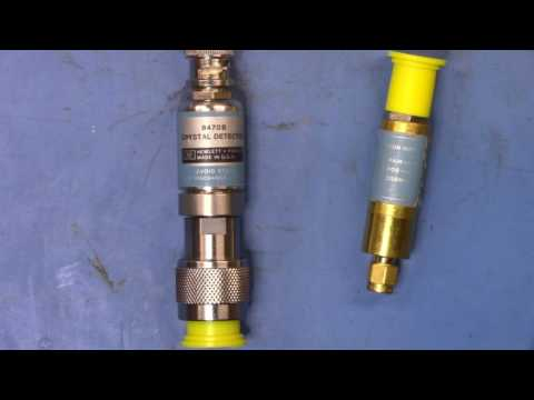 HP Crystal Detectors 8470B 8472B 8473C