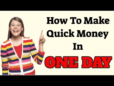 How To Make Quick Money In One Day 2019 Paypal Method