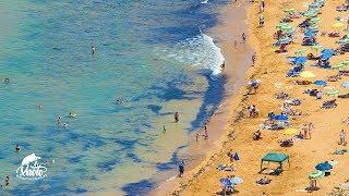 Ramla Bay na Gozo [+mapy, rozkłady i tablice informacyjne]