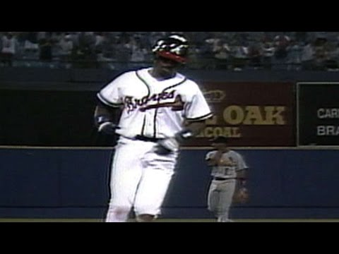 McGriff homers in Braves debut