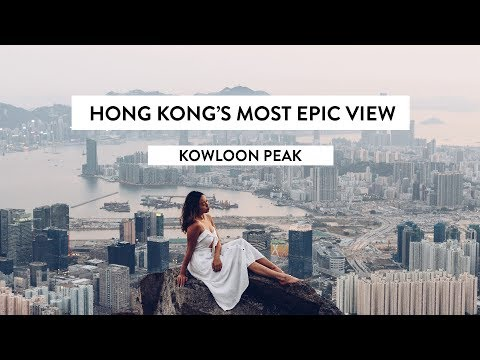 The Most Epic View Of Hong Kong   Kowloon Peak