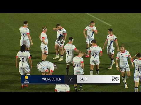 Worcester Warriors v Sale Sharks - Anglo Welsh Cup 2017-18