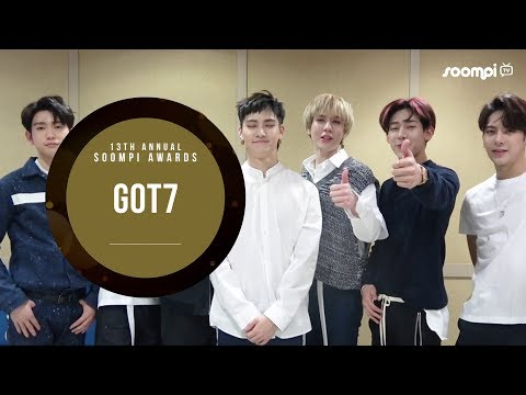 GOT7 – Best Male Group, Twitter Best Fandom, Latin America Popularity | 13th Annual Soompi Awards