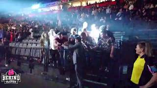 AMIR KHAN MAKING TIME FOR FANS AT JOSEPH PARKER-HUGHIE FURY FIGHT