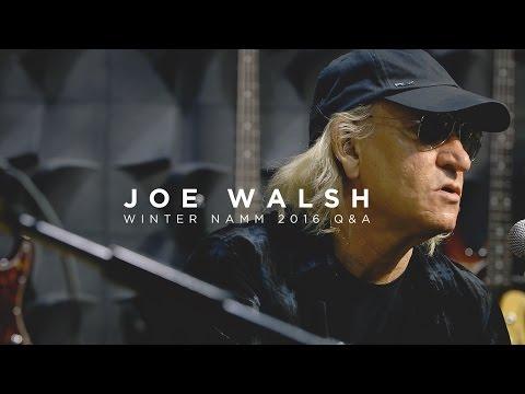 Ernie Ball: Joe Walsh Q&A | Live at NAMM 2016