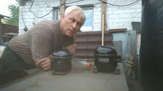 как правильно слить масло с мотор-компрессора бытового холодильника