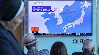 South Korea and Japan condemn North Korea 'missile launch' thumbnail