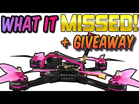 ALMOST drone of the year for 2017!! CRAZY SPECS Furibee Fire Dancer drone Review