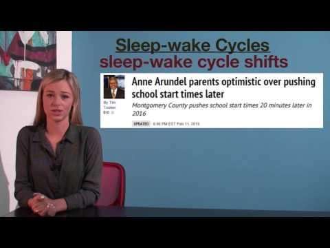VCE Psychology - Sleep Wake Cycles
