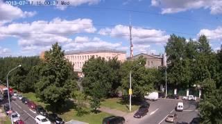 уличная цилиндрическая ip камера с ик подсветкой J2000IP-PWH313-Ir5-PDN Обзорное видео 17 00