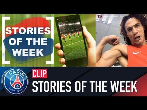 ZAPPING - STORIES OF THE WEEK with Edinson Cavani, Neymar Jr & Serge Aurier