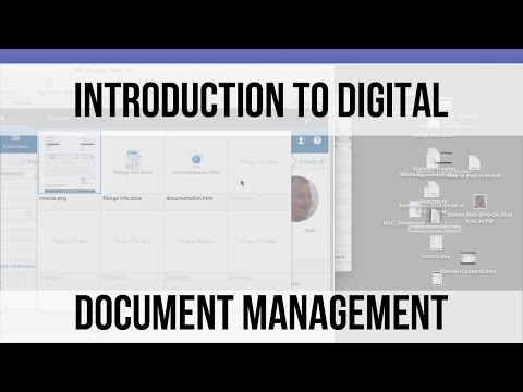 Introduction to Digital Document Management | FileMaker 14 Video