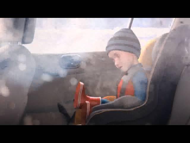 Lapsen turvallinen kuljettaminen autossa