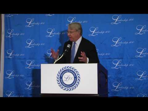 Leadership 100 26th Annual Conference, James S. Chanos, Speaker