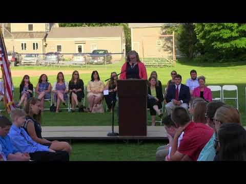 Hartford Memorial Middle School Graduation