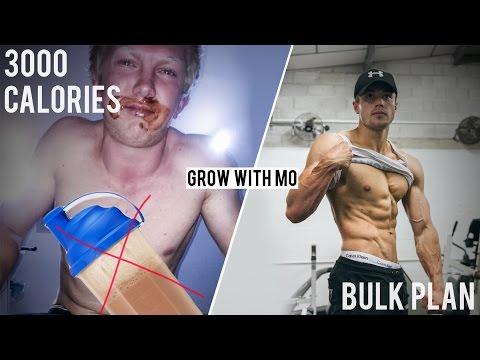 The 3K calorie shake...   Bulk plan   Grow With Mo EP1