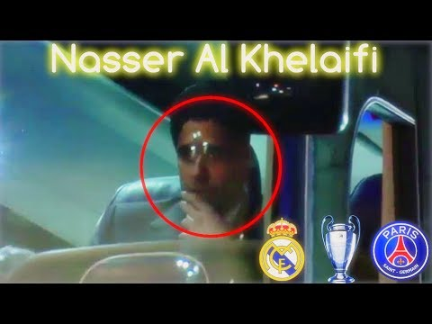 PSG president Nasser Al Khelaifi After Real Madrid Victory ◉ Champions League