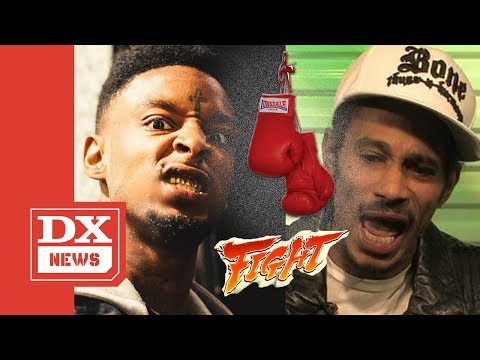 Layzie Bone Challenges 21 Savage To A Pay-Per-View Boxing Match