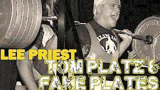 LEE PRIEST on TOM PLATZ Using FAKE PLATES!
